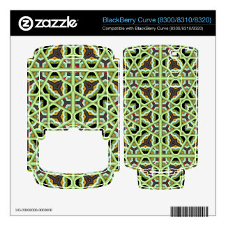 Kaleidoscope Abstract Multicolored Pattern Decal For BlackBerry