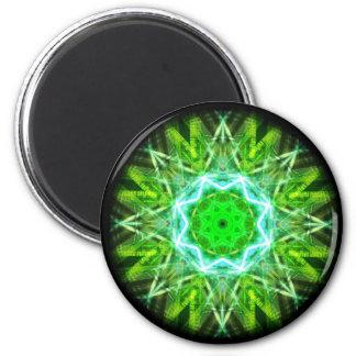 kaleidoscope abstract shape star eye iris science refrigerator magnets