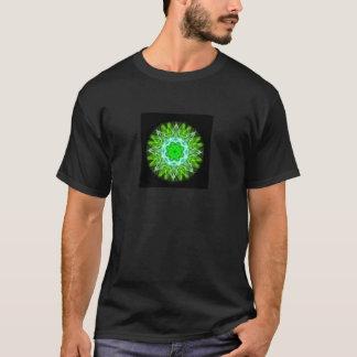 kaleidoscope abstract shape star eye iris science T-Shirt
