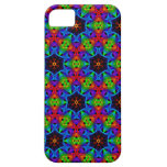 Kaleidoscope and Spirograph Polychromatic Polygons iPhone 5 Cases