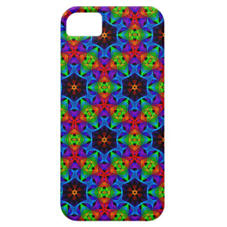 Kaleidoscope and Spirograph Polychromatic Polygons iPhone SE/5/5s Case