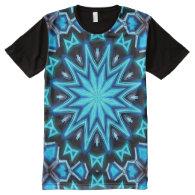 Kaleidoscope Art 10 All-Over Print T-shirt
