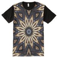 Kaleidoscope Art 16 All-Over Print T-shirt