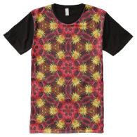 Kaleidoscope Art 21 All-Over Print T-shirt