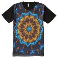 Kaleidoscope Art 34 All-Over Print T-shirt