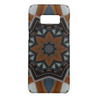 Kaleidoscope brown star Case-Mate samsung galaxy s8 case