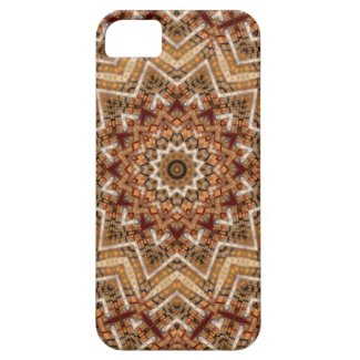 Kaleidoscope Brown Star iPhone 5 Cover
