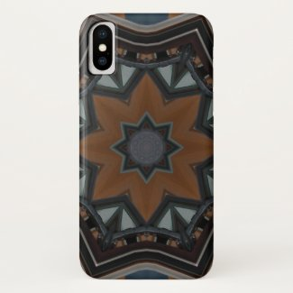 Kaleidoscope brown star