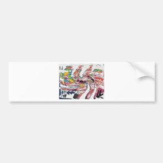 Kaleidoscope Bumper Sticker
