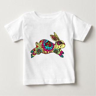 Kaleidoscope Bunny   Pale Yellow Infant T-shirt