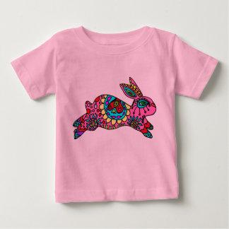 Kaleidoscope Bunny   Pink  T-shirt