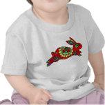 Kaleidoscope Bunny   RED Shirts