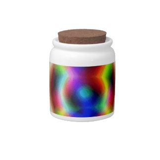 Kaleidoscope candy jar
