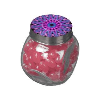 kaleidoscope candy jars and tins glass candy jars