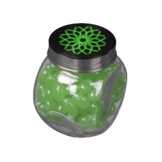 kaleidoscope candy jars and tins glass candy jar
