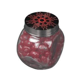 kaleidoscope candy jars and tins glass jar