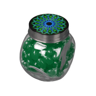 kaleidoscope candy jars and tins glass jars
