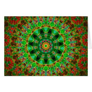 Kaleidoscope Card