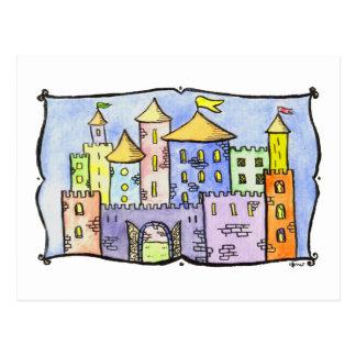 Kaleidoscope Castle Postcard