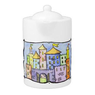 Kaleidoscope Castle Teapot