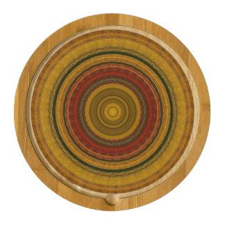 Kaleidoscope  Cheese Board Round Cheeseboard