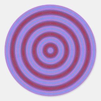 kaleidoscope classic round sticker