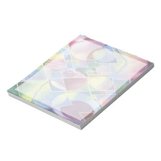 Kaleidoscope - Classy Abstract in Watercolor Note Pad