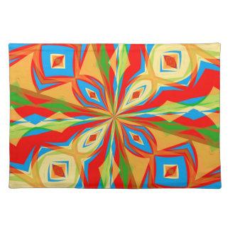 Kaleidoscope Cloth Placemat