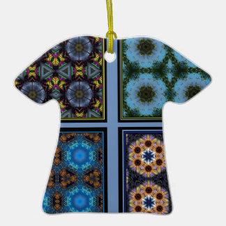 Kaleidoscope Collage Marvel Double-Sided T-Shirt Ceramic Christmas Ornament