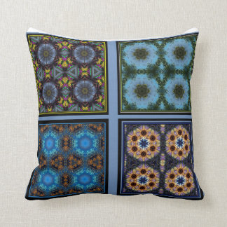 Kaleidoscope Collage Marvel Pillow