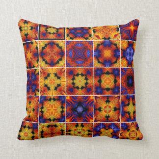 Kaleidoscope Collage Throw Pillow