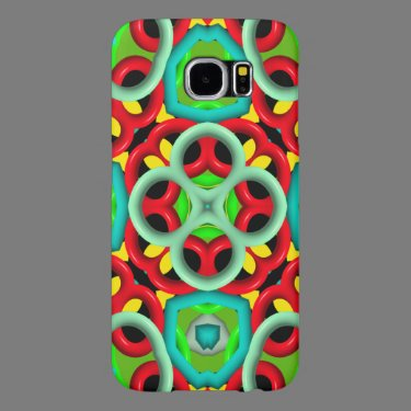 Kaleidoscope colorful pattern samsung galaxy s6 cases