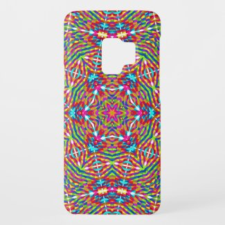 Kaleidoscope colorful star Case-Mate samsung galaxy s9 case