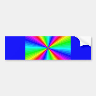 kaleidoscope-colors car bumper sticker