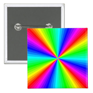 kaleidoscope-colors 2 inch square button
