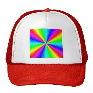kaleidoscope-colors trucker hat