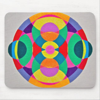 Kaleidoscope Colors Mouse Pad