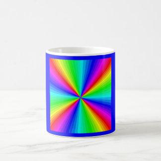 kaleidoscope-colors classic white coffee mug