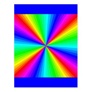 kaleidoscope-colors postcard