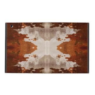 Kaleidoscope cow hide pattern iPad covers