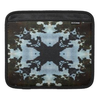 Kaleidoscope cow hide pattern ipad sleeve