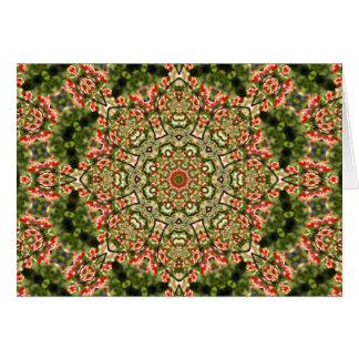 Kaleidoscope crabapple card