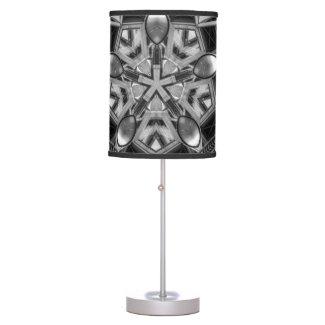 Kaleidoscope dark grey Star... Table Lamp