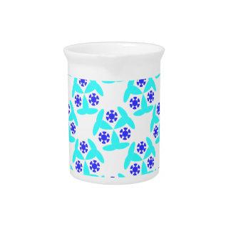kaleidoscope design beverage pitcher