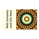 Kaleidoscope Design Business Card Template