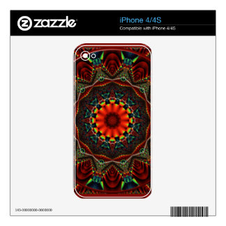 Kaleidoscope Design CG2 Skin For The iPhone 4