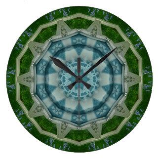 Kaleidoscope Design Clock