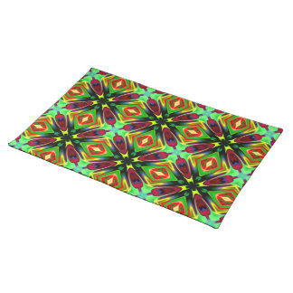 Kaleidoscope Design Cloth Placemat