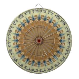 Kaleidoscope Design Dart Board