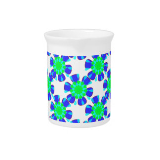 kaleidoscope design drink pitcher